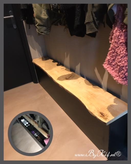 opbergkast schoenen met lade